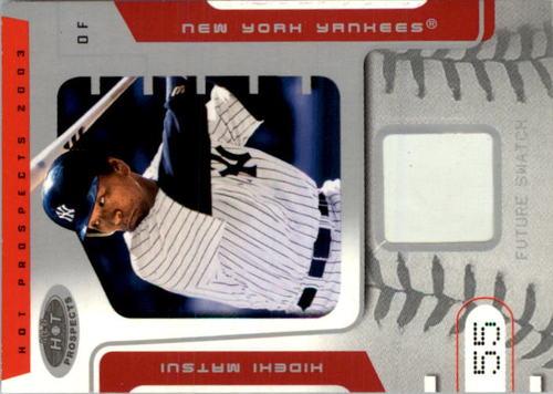 Photo of 2003 Hot Prospects #105 Hideki Matsui FS Base RC