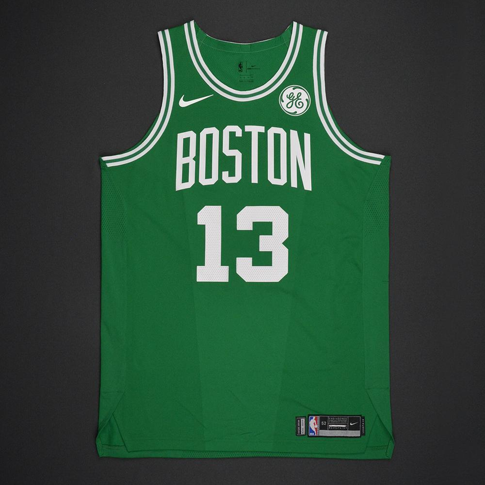 finest selection 3f2a4 d26d2 Marcus Morris - Boston Celtics - Opening Night Game-Issued ...