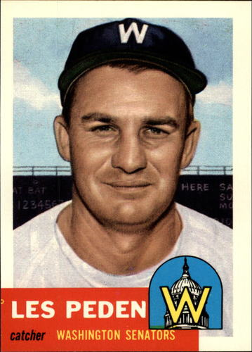 Photo of 1991 Topps Archives 1953 #256 Les Peden