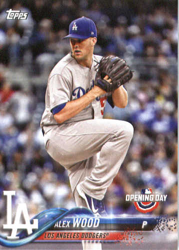 Photo of 2018 Topps Opening Day #196 Alex Wood