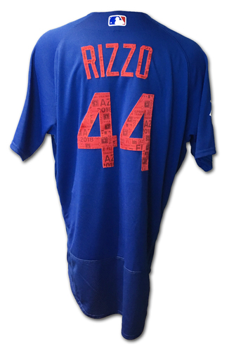 Photo of Anthony Rizzo Jersey -- Spring Training 2018