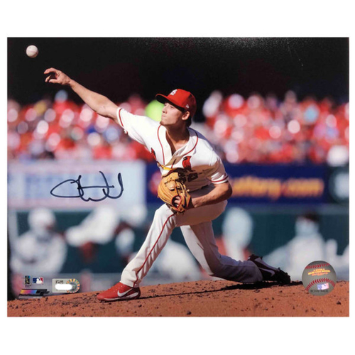 Photo of Cardinals Authentics: Luke Weaver Autographed 8 x 10 Photo