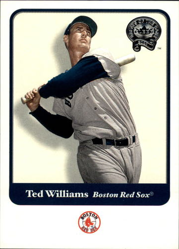 Photo of 2001 Greats of the Game #124 Ted Williams -- Hall of Fame Class of 1966