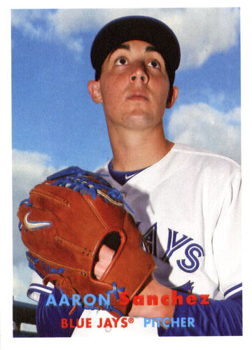 Photo of 2015 Topps Archives #68 Aaron Sanchez