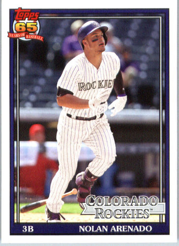 Photo of 2016 Topps Archives #276 Nolan Arenado