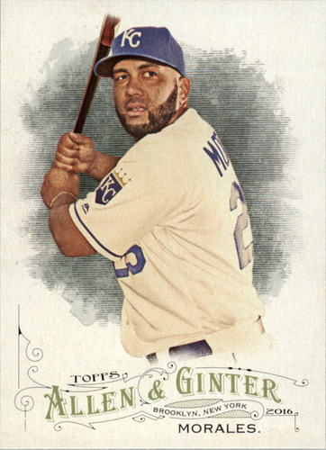 Photo of 2016 Topps Allen and Ginter #14 Kendrys Morales