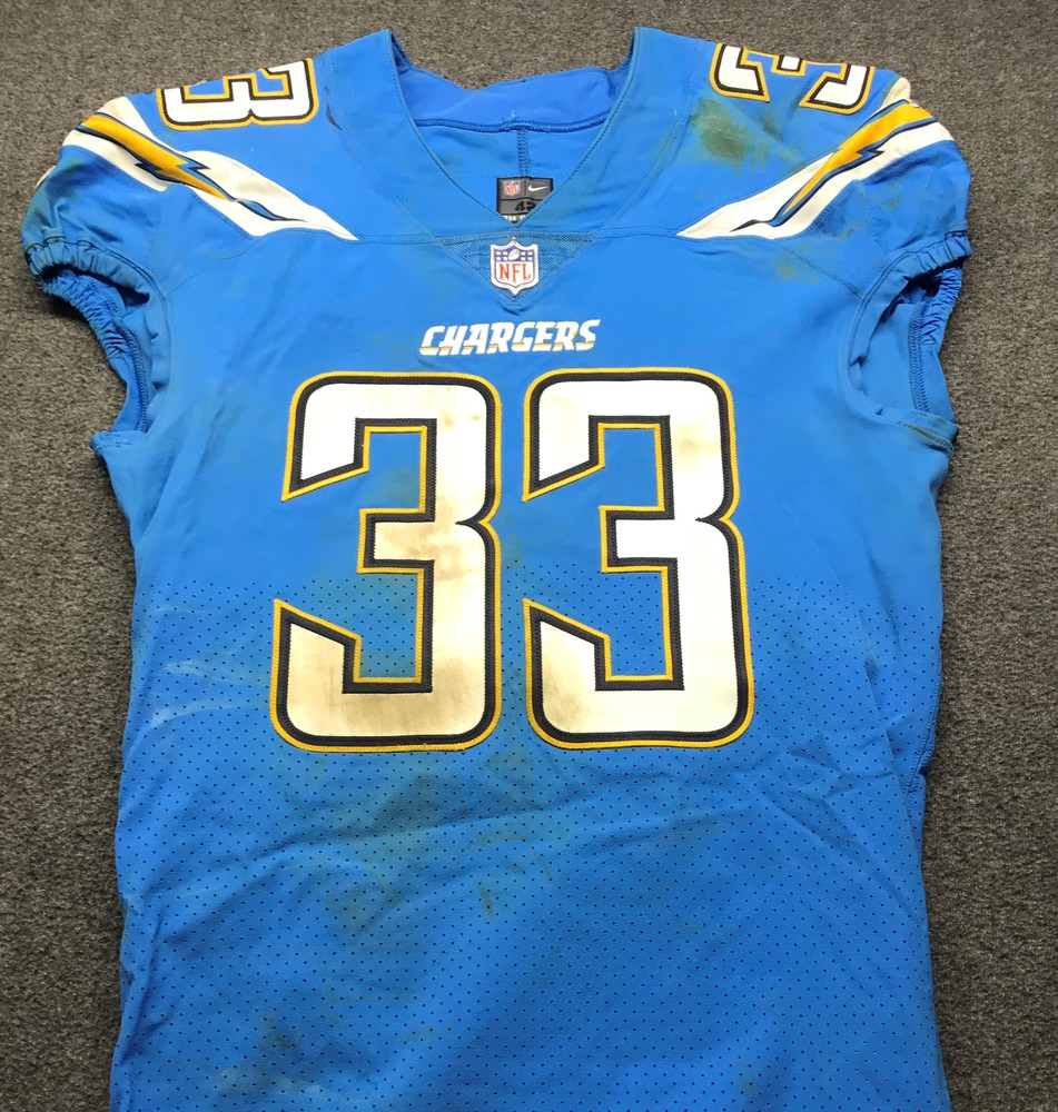 save off 19c12 7290b NFL Auction | California Wildfire Relief - Chargers Derwin ...
