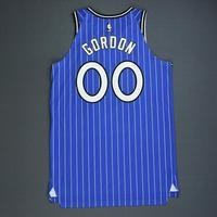 Aaron Gordon - Orlando Magic - Game-Worn Classic Edition 1994-98 Alternate Road Jersey - Worn in 5 Games - Double-Double - 2018-19 Season