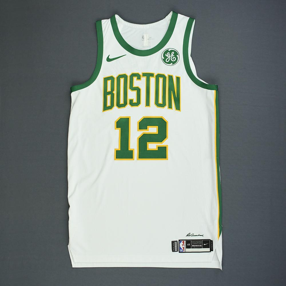 buy online a85fa 99935 Terry Rozier - Boston Celtics - Game-Worn City Edition ...