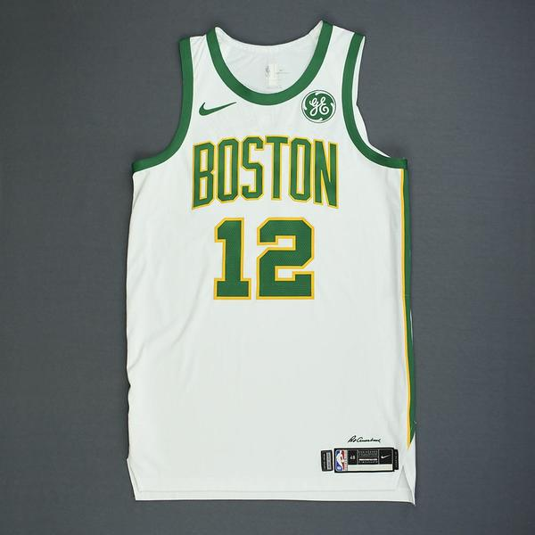 Terry Rozier - Boston Celtics - Game-Worn City Edition Jersey ...