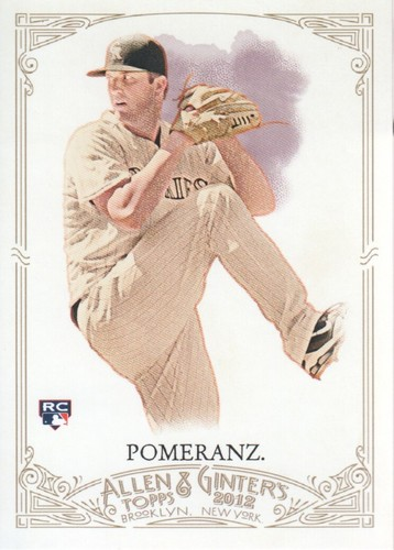 Photo of 2012 Topps Allen and Ginter #295 Drew Pomeranz RC