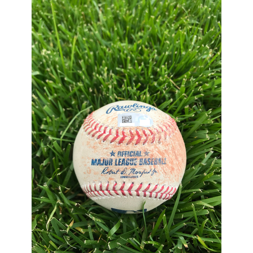 Photo of Cardinals Authentics: Game Used Baseball Pitched by Dakota Hudson to Bryce Harper, Rhys Hoskins, J.T. Realmuto *Harper Walk, Hoskins Single, Realmuto Ball*
