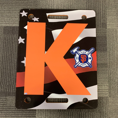 Photo of 2019 Firefighter Appreciation Night K Board