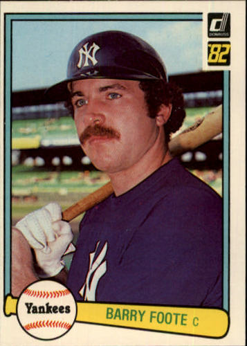 Photo of 1982 Donruss #83 Barry Foote