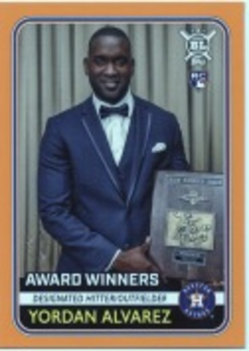 Photo of 2020 Topps Big League Orange #270 Yordan Alvarez AW