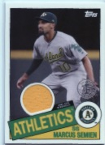 Photo of 2020 Topps '85 Topps Relics #85TRMS Marcus Semien