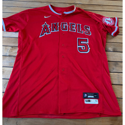 Photo of Albert Pujols Game-Used Jersey from the 9/25/20 Game vs. LAD - Size 52C