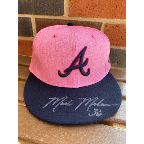 Photo of Mark Melancon MLB Authenticated Breast Cancer Awareness Month Autographed Hat