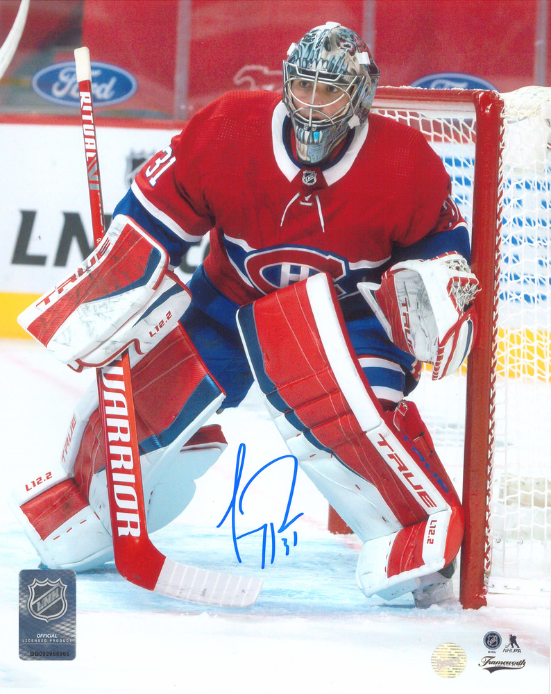 Carey Price Signed 8x10 Unframed Canadiens Red Action-V