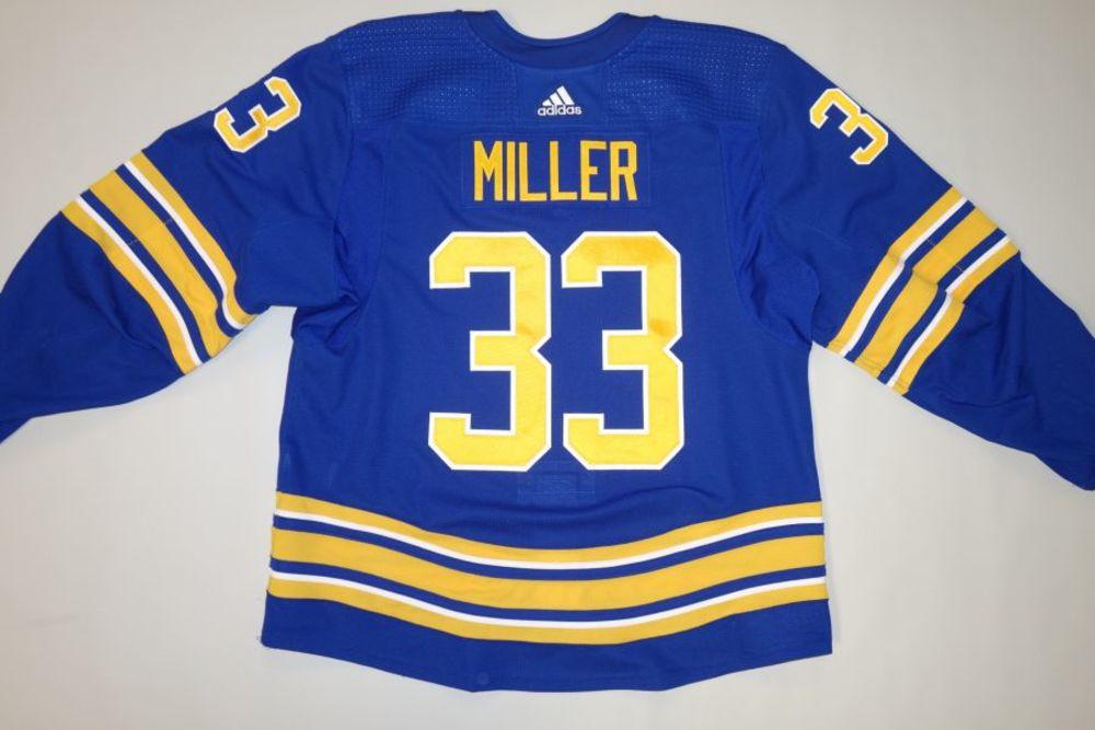 Colin Miller 2020-21 Buffalo Sabres Set 1 Home Jersey