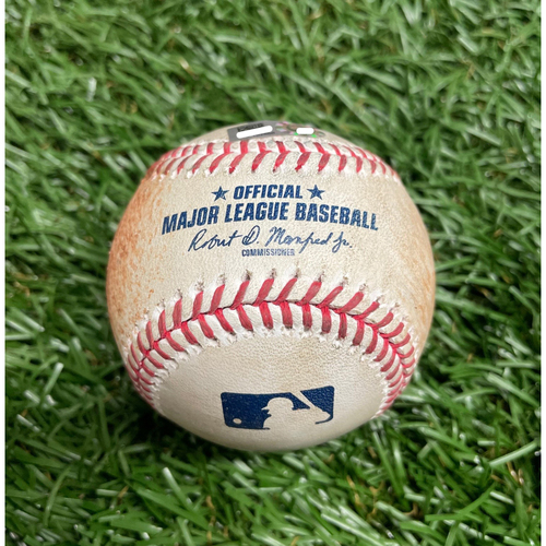 Photo of Game Used Baseball: Jose Martinez 2RBI double off Ryan Borucki - Bottom 6 - August 21, 2020 v TOR