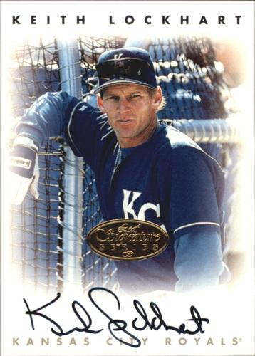 Photo of 1996 Leaf Signature Autographs Gold #138 Keith Lockhart
