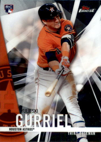 Photo of 2017 Finest #90 Yulieski Gurriel Rookie Card