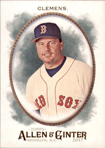 Photo of 2017 Topps Allen and Ginter #235 Roger Clemens