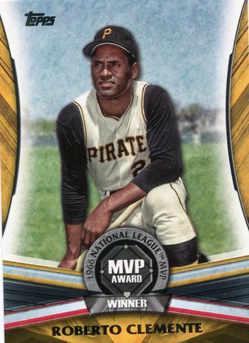 Photo of 2017 Topps Update MVP Award #MVP19 Roberto Clemente
