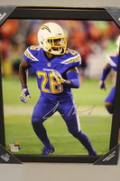 CHARGERS - CASEY HAYWARD SIGNED 11X14 FRAMED PHOTO