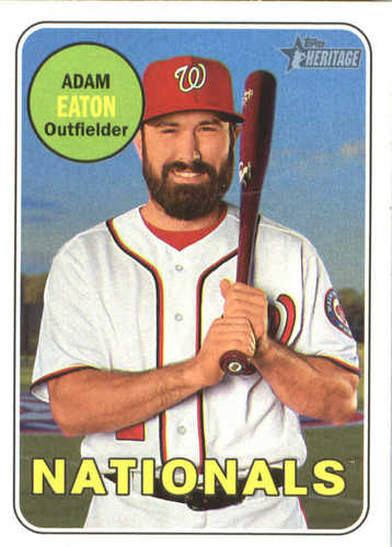 Photo of 2018 Topps Heritage #255 Adam Eaton