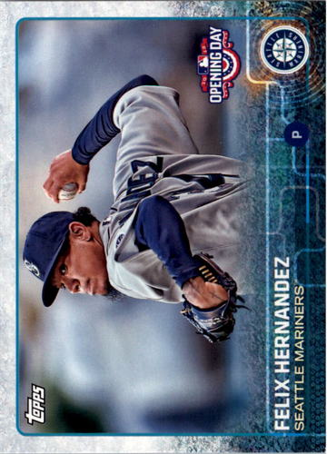 Photo of 2015 Topps Opening Day #186 Felix Hernandez