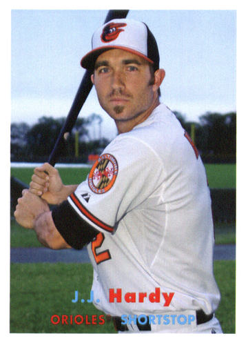 Photo of 2015 Topps Archives #80 J.J. Hardy