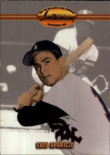 Photo of 1993 Ted Williams #25 Luis Aparicio