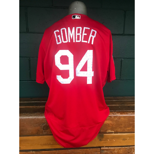 Photo of Cardinals Authentics: Team Issued Austin Gomber 2017 Spring Training Jersey