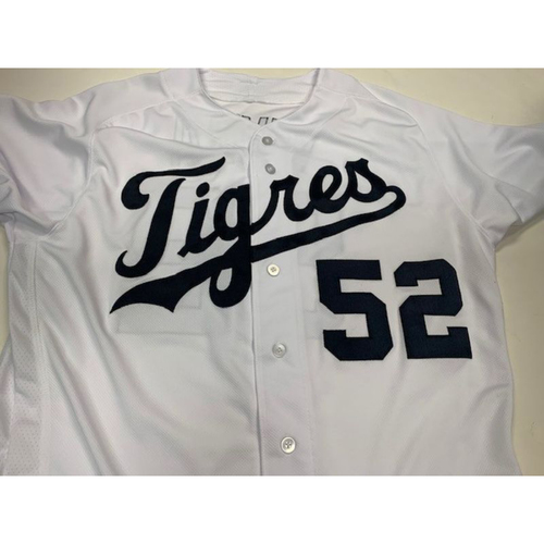 Photo of Game-Used Fiesta Tigres Jersey: Joe Vavra
