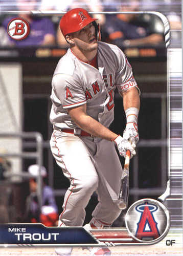 Photo of 2019 Bowman #1 Mike Trout