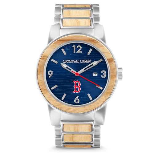 Photo of Boston Red Sox -  Reclaimed Baseball Bat Watch