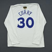 Stephen Curry - Golden State Warriors - 2019 NBA Finals - Game-Issued Long-Sleeved Shooting Shirt