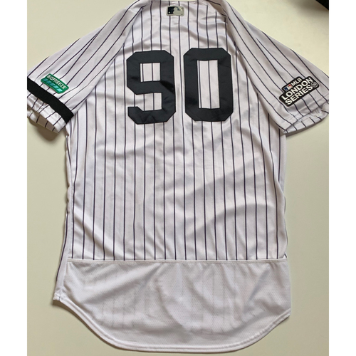 2019 London Series - Game-Used Jersey - Thairo Estrada, New York Yankees vs Boston Red Sox - 6/29/19