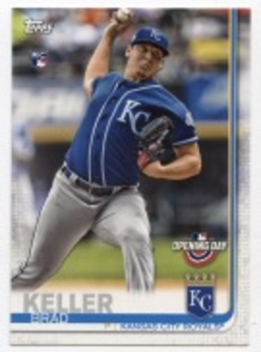 Photo of 2019 Topps Opening Day #91 Brad Keller RC