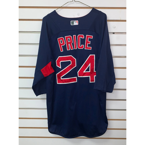 Photo of David Price Team Issued Road Batting practice Jersey