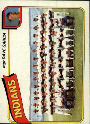Photo of 1980 Topps #451 Cleveland Indians CL/Dave Garcia MG