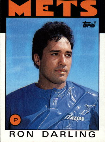 Photo of 1986 Topps #225 Ron Darling
