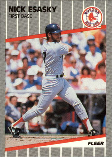 Photo of 1989 Fleer Update #9 Nick Esasky