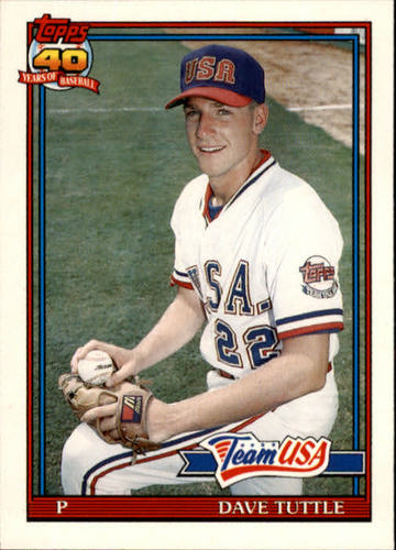 Photo of 1991 Topps Traded #122T David Tuttle USA RC