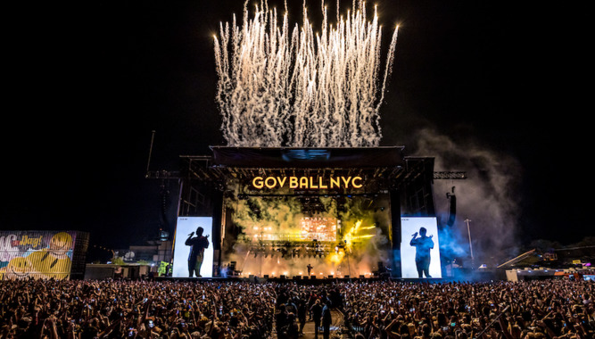 GOVERNORS BALL MUSIC FESTIVAL IN NYC