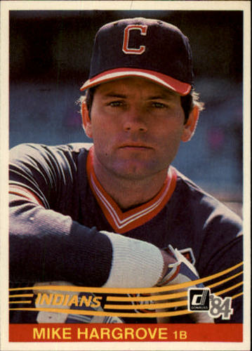 Photo of 1984 Donruss #495 Mike Hargrove