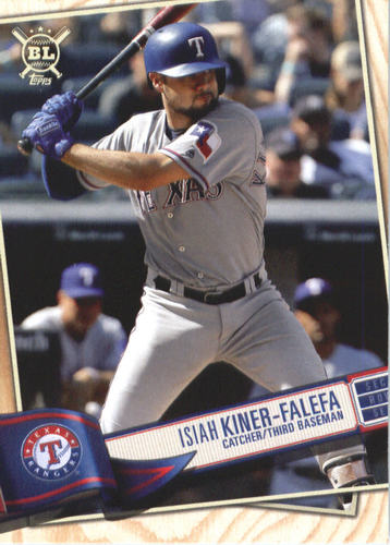 Photo of 2019 Topps Big League #201 Isiah Kiner-Falefa