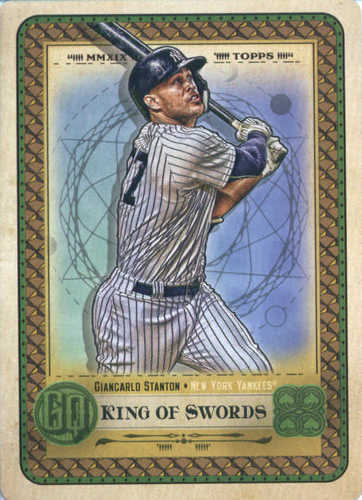 Photo of 2019 Topps Gypsy Queen Tarot of the Diamond #8 Giancarlo Stanton